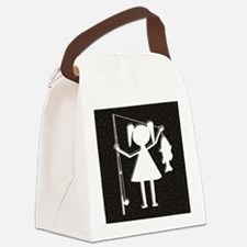 REELGIRL BLANKET Canvas Lunch Bag