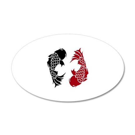 Dark koi wall decal by vvictorydesigns for Koi wall decal
