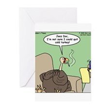 Cold Turkey Greeting Cards (Pk of 20)