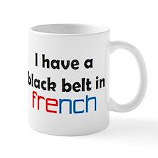 french black belt Mug