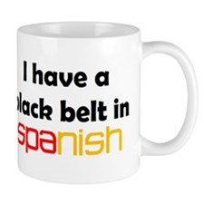 spanish black belt Mug