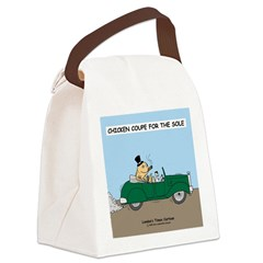 Chicken Coupe for the Sole Canvas Lunch Bag