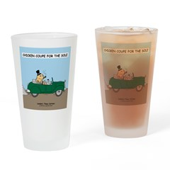 Chicken Coupe for the Sole Drinking Glass