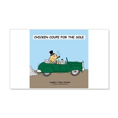 Chicken Coupe for the Sole Wall Decal