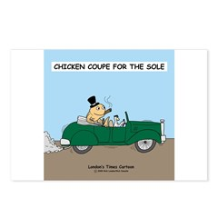 Chicken Coupe for the Sole Postcards (Package of 8