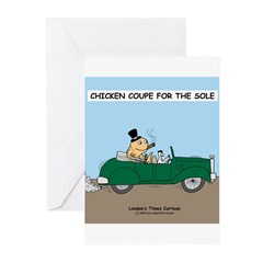 Chicken Coupe for the Sole Greeting Cards (Pk of 1