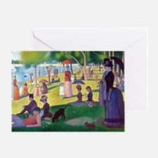 A Sunday Afternoon on the Island of  Greeting Card