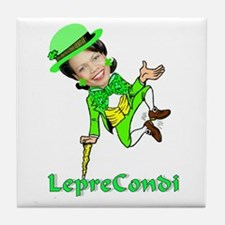 LepreCondoleezza Tile Coaster