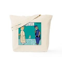 Curiosity Killed the Cat Tote Bag