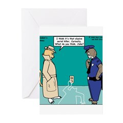 Curiosity Killed the Cat Greeting Cards (Pk of 10)