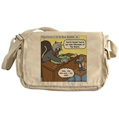 Cat and Mouse Messenger Bag