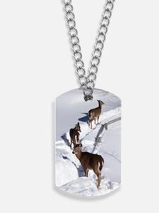 7.5x5.5_card deer Dog Tags