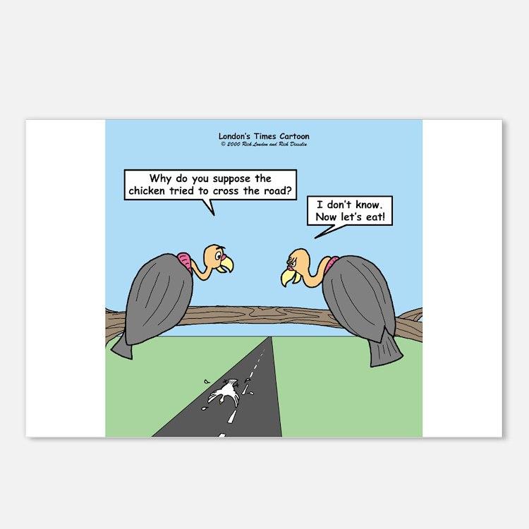 Impatient Buzzards Postcards (Package of 8)