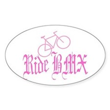 Ride BMX Oval Decal