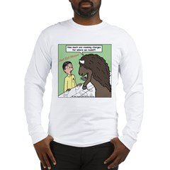 Buffalo Roaming Charges Long Sleeve T-Shirt