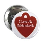 Goldendoodle Tag Button