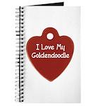 Goldendoodle Tag Journal