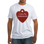 Goldendoodle Tag Fitted T-Shirt