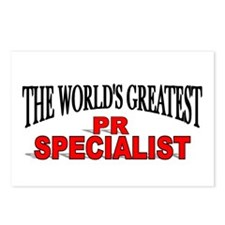 """""""The World's Greatest PR Specialist"""" Postcards (Pa"""