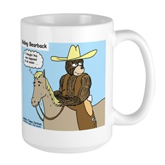 Bear Back Riding Mug