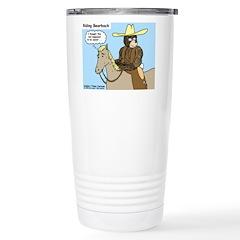 Bear Back Riding Travel Mug