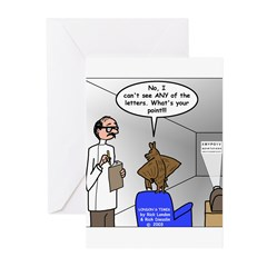 Blind as a Bat Greeting Cards (Pk of 10)