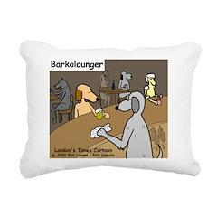 Barkolounger Rectangular Canvas Pillow