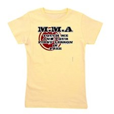 MMA teeshirt: touch me, first lesson is Girl's Tee