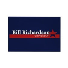 BILL RICHARDSON 2008 Rectangle Magnet