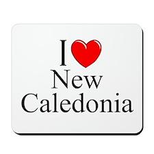 """I Love New Caledonia"" Mousepad"