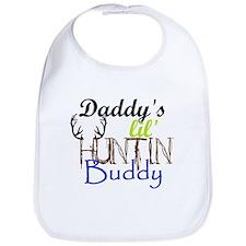 Daddys lil huntin Buddy Bib