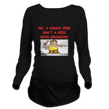 GEOMETRY gifts t-shi Long Sleeve Maternity T-Shirt