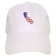 California Flag Baseball Cap
