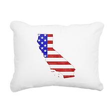 California Flag Rectangular Canvas Pillow
