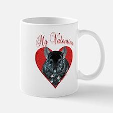 Chinchilla Valentine Mug
