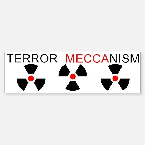 Terror Mechanism Bumper Bumper Bumper Sticker