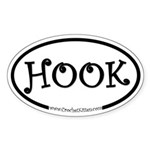 Hook Oval Sticker