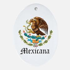 Mexicana Oval Ornament