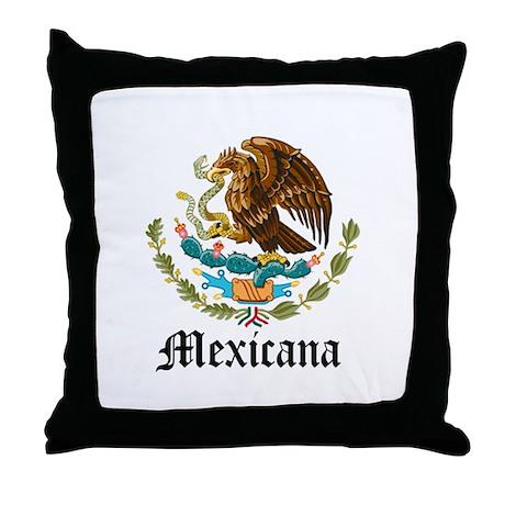 Mexicana Throw Pillow
