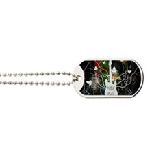 Rock Out Card for Bands and Musicians Dog Tags