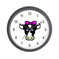Hope the Cow Wall Clock
