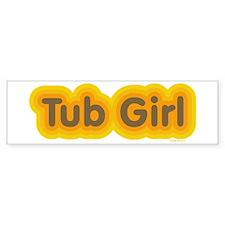 Tub Girl Mod Bumper Bumper Sticker