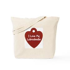 Labradoodle Tag Tote Bag