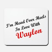 In Love with Waylon Mousepad