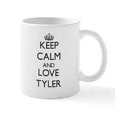 Keep calm and love Tyler Mugs