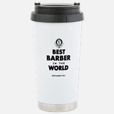 The Best in the World – Barber Travel Mug