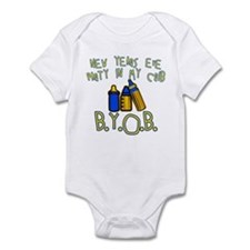 New Year's Party in My Crib Infant Bodysuit