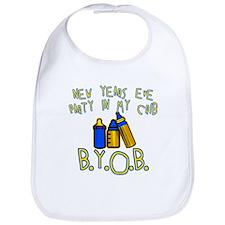 New Year's Party in My Crib Bib