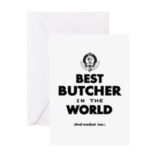 The Best in the World – Butcher Greeting Cards