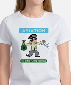 """""""I'm in the Flying Business"""" Tee"""